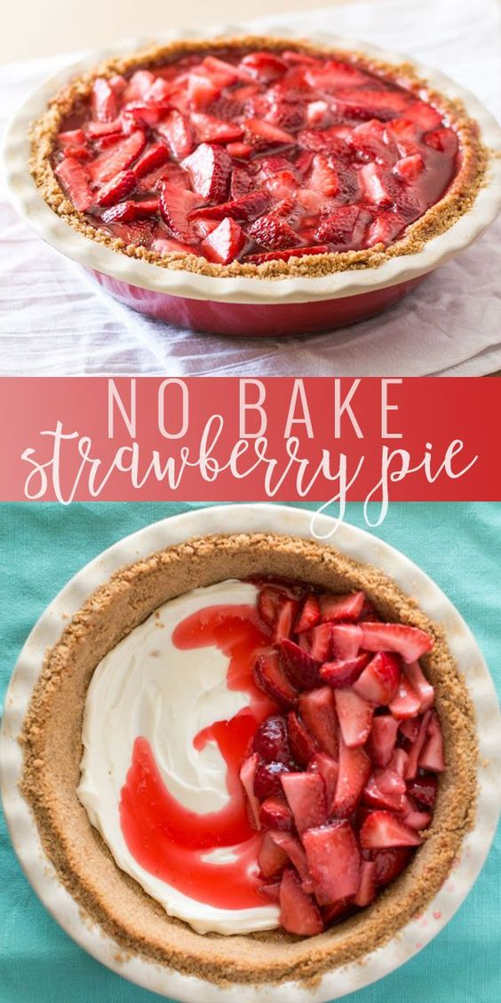FRESH STRAWBERRY PIE #dessertrecipes #dessertrecipeseasy #dessertrecipeschocolate #dessertrecipesvideos #dessertrecipesforparties #BestDESSERTRecipes #food #foodphotography #foodrecipes #foodpackaging #foodtumblr #FoodLovinFamily #TheFoodTasters #FoodStorageOrganizer #FoodEnvy #FoodandFancies #drinks #drinkphotography #drinkrecipes #drinkpackaging #drinkaesthetic #DrinkCraftBeer #Drinkteaandread #RecipesFood&Drink #DrinkRecipes #recipes #recipeseasy #recipesfordinner #recipeshealthy