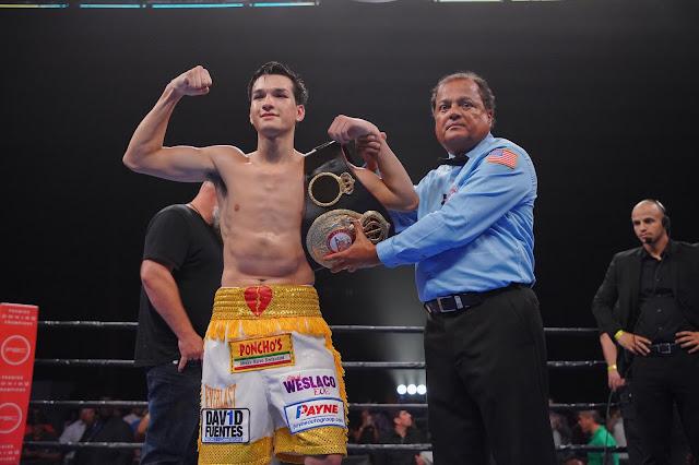 Brandon Figueroa  WBA Super Bantamweight champion