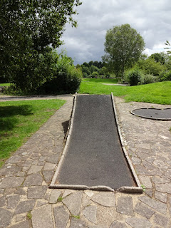 Crazy Golf at Coate Water Country Park in Swindon