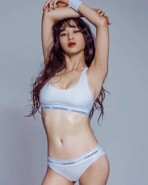Nhan sắc vừa ngây thơ, vừa sexy của 3 mẫu nội y mới nổi tại Hàn Quốc