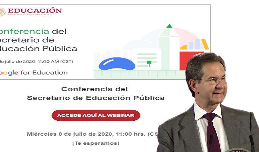Liga de acceso: Conferencia del Secretario de Educación Pública