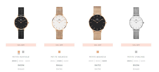 Daniel Wellington Womens Day discount code cestlajez blogger malaysia DW