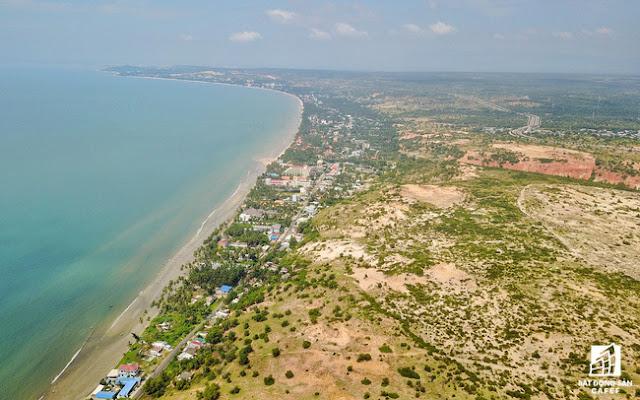 Lấn chiếm đất công ở Bình Thuận