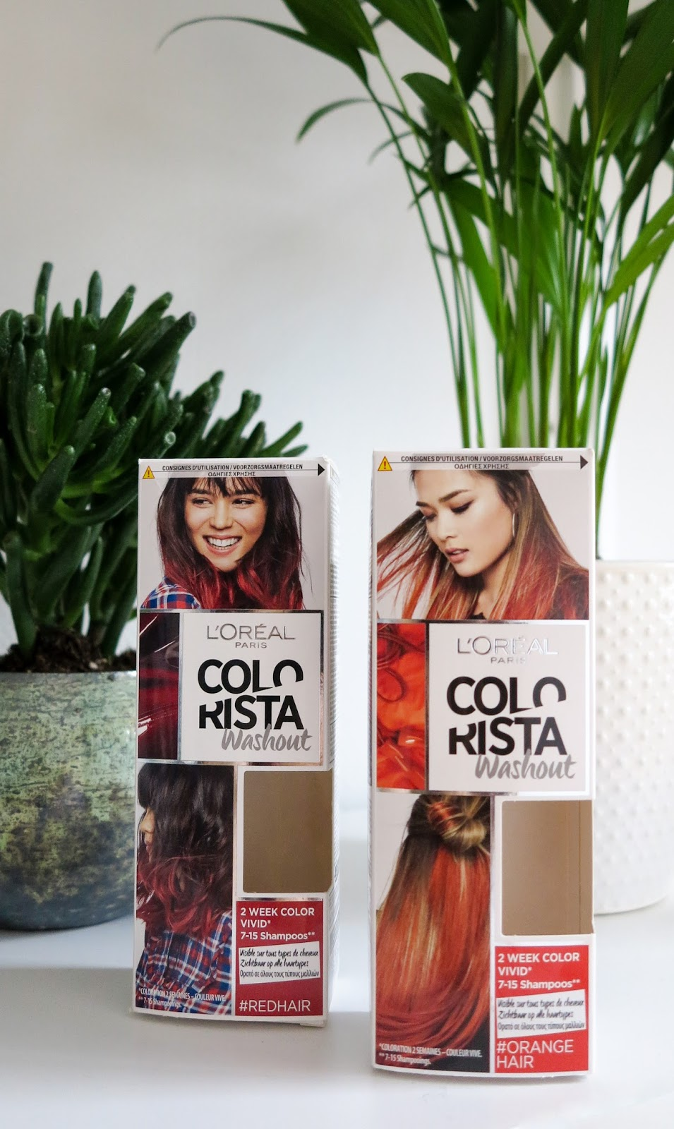 L'Oréal Paris Colorista Washout Rood & Oranje