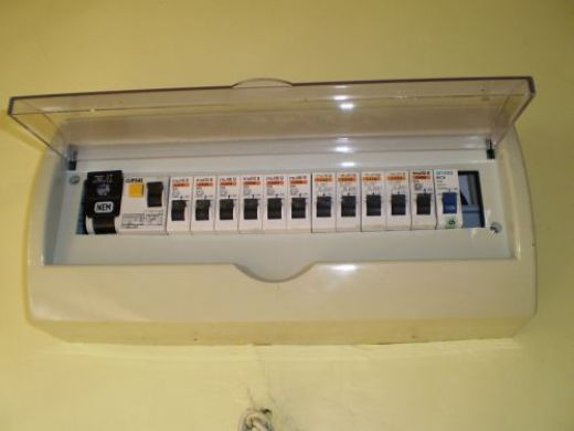 The World Through Electricity: Main electrical distribution panel ...