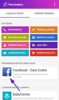 Cara Akses Facebook Secara Gratis Tanpa Kuota