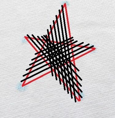 Thêu ngôi sao đặc - Hình 2