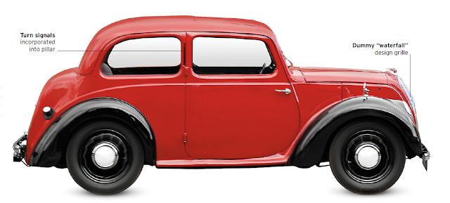 Morris Eight Series E, classic cars