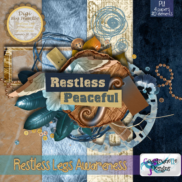 Digi BlogTrain List : Restless Legs Awareness
