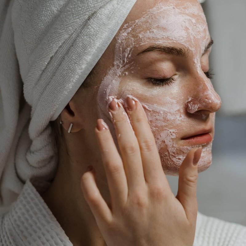 Máscaras faciais caseiras para a pele