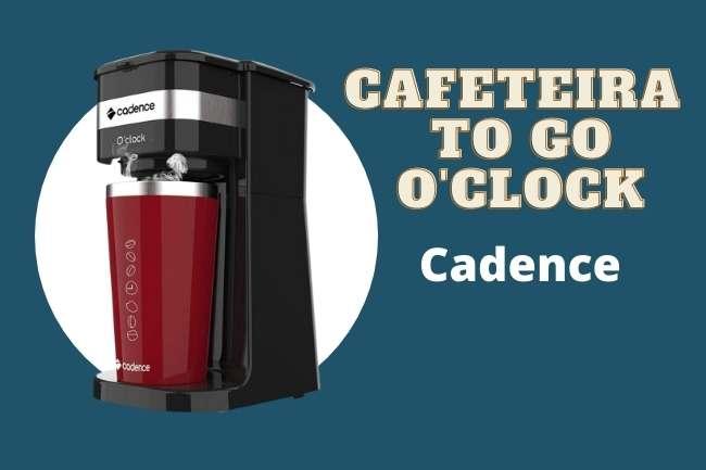 Cafeteira Elétrica Cadence To Go com copo térmico é boa