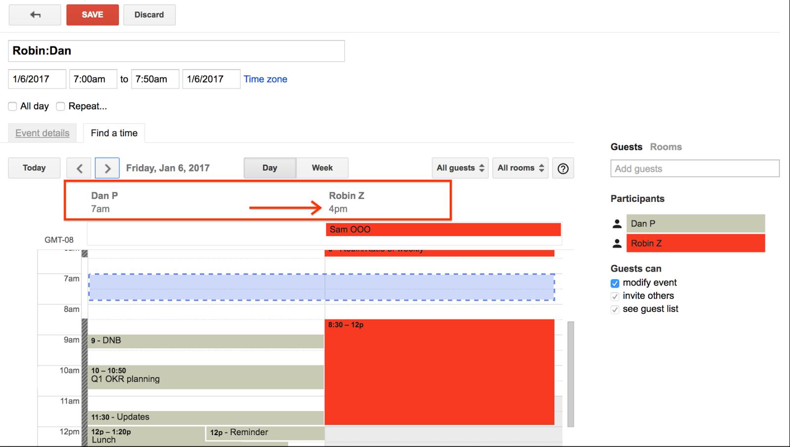 g suite updates blog smarter meeting scheduling in google calendar