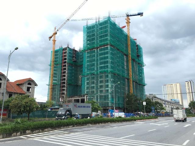 Tiến độ thi công xây dựng chung cư Gemek Premium