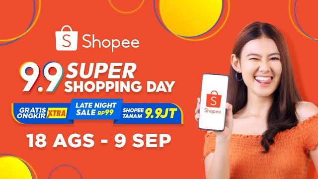 Siêu hội mua sắm shopee 9.9