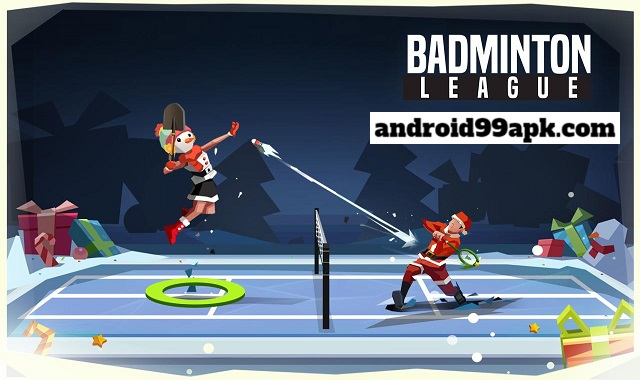 لعبة Badminton League v3.95.3977.7 مهكرة بحجم 64 MB للأندرويد