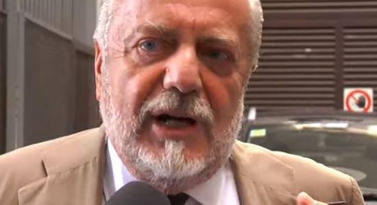 """DE LAURENTIIS; """"Pavoletti affare concluso. Dal 27 sarà a disposizione di Sarri. Gabbiadini via""""."""