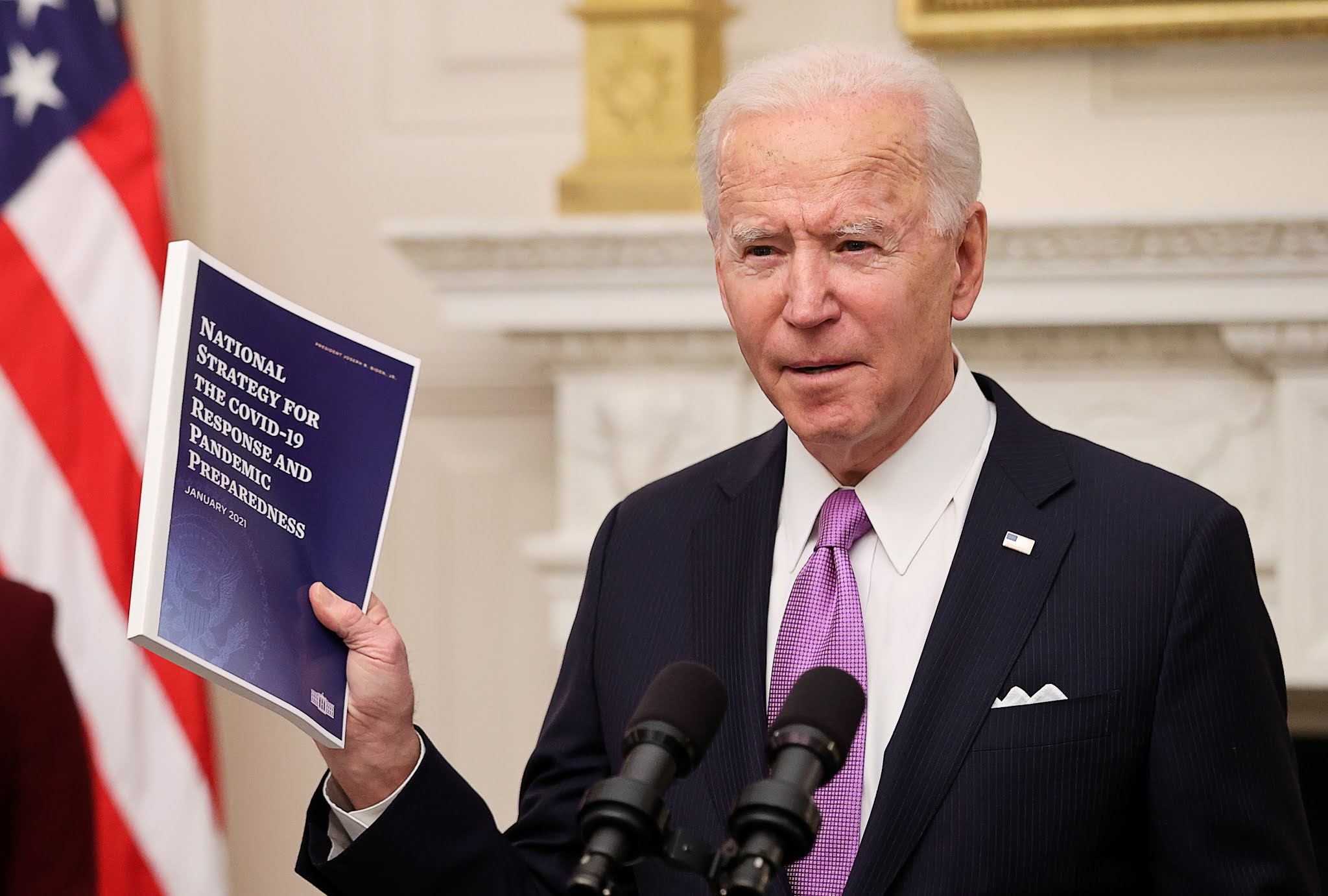Joe Biden presentó su plan para la lucha contra el coronavirus: más ayuda, coordinación y medidas preventivas