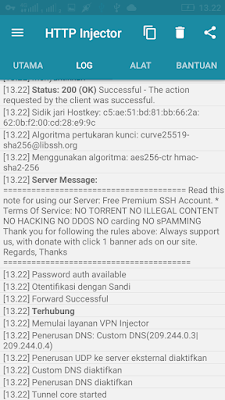 cara import config internet gratis work http injector XL, Axis, Telkomsel, Indosat, Three (3)