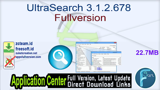 UltraSearch 3.1.2.678 Fullversion