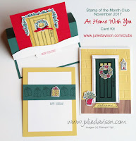 Stampin' Up! At Home With You Card Kit ~ 2017-2018 Annual Catalog ~ www.juliedavison.com/clubs