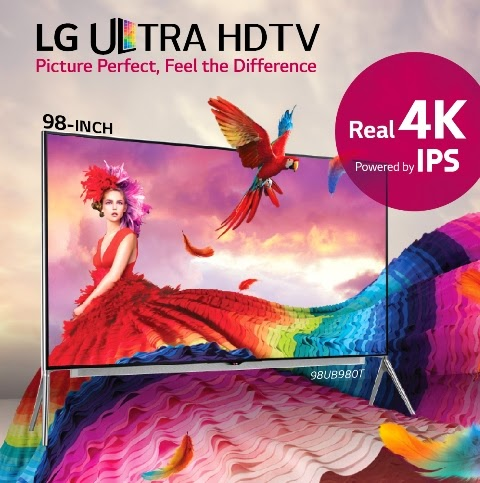 98-inch LG Ultra HD TV