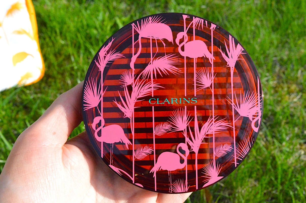 Clarins Summer 2018 Flamingo Print