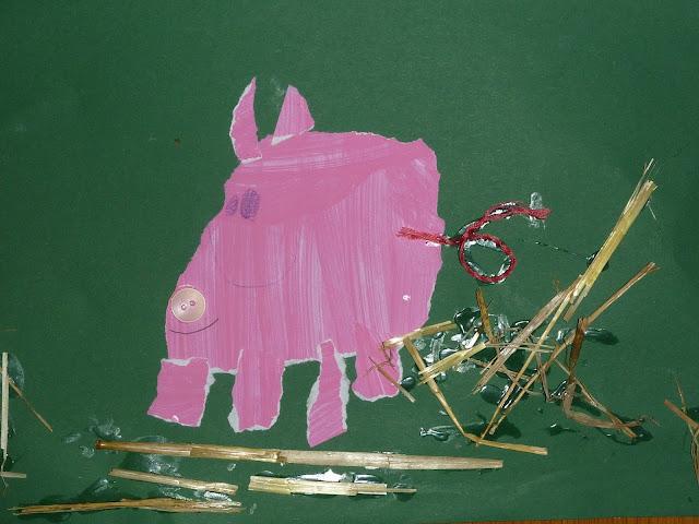 Schweine im Kindergarten