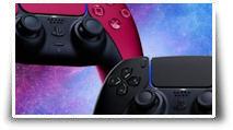 Midnight Black et Cosmic Red, les deux nouvelles DualSense de la PS5