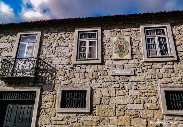 Fachada típica da Vila Nova de Gaia, Portugal