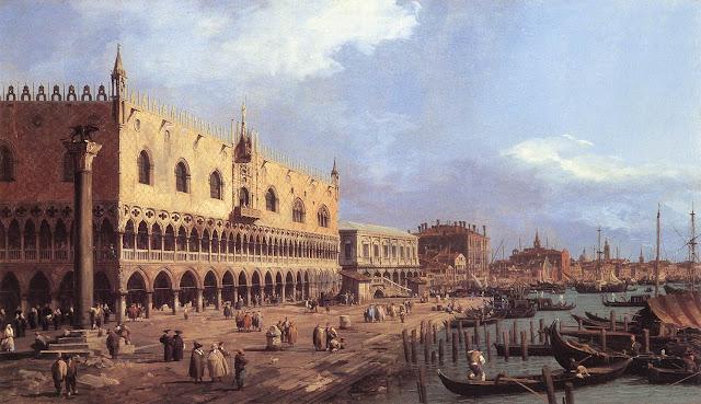 Canaletto,La Riva degli Schiavoni,1730