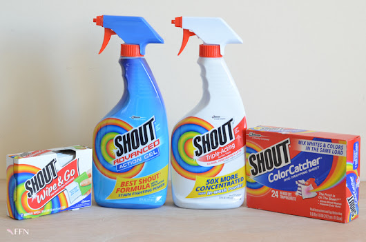 WHY FASHION DESIGNERS LOVE SHOUT® STAIN REMOVER (AND YOU SHOULD,TOO!)