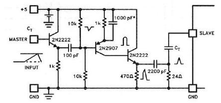 uc3845-sync-pulse-generator-circuit-Diagram