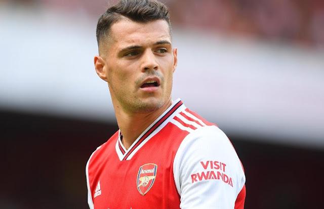 L'Arsenal ha messo in vendita Granit Xhaka, voluto da due squadre della Bundesliga