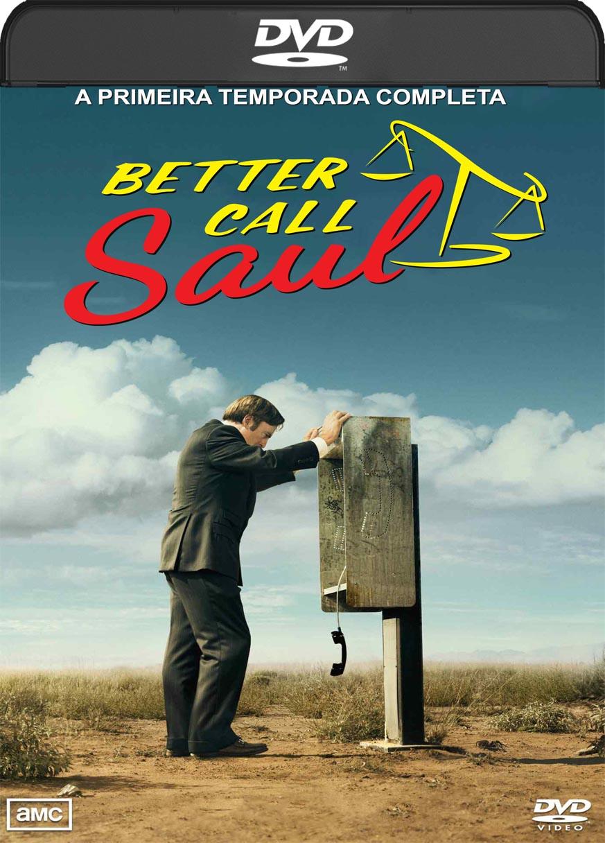 Better Call Saul – 1ª Temporada Completa (2015) DVD-R Oficial