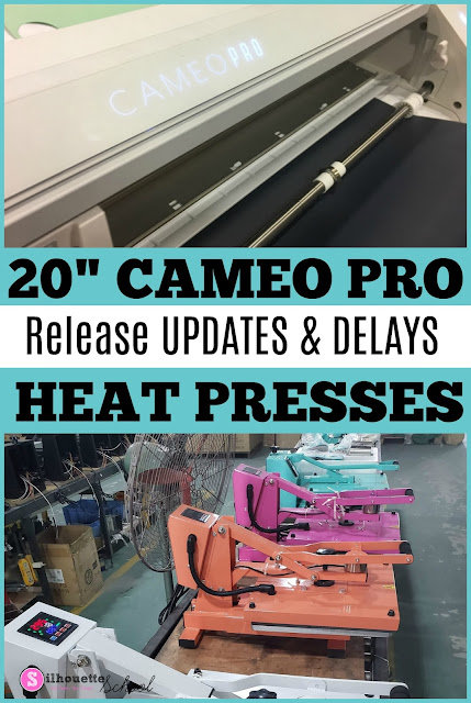 silhouette 101, silhouette america blog, CAMEO 4 Pro, 20 CAMEO 4, heat press