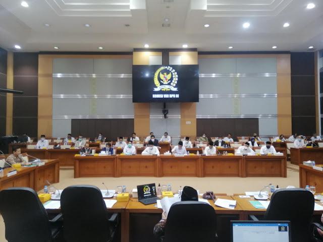 Pelaksanaan Kegiatan Mitigasi Dan Responsif Covid-19, Kemenag Anggarkan Dana Hampir 3 Triliun Untuk Anggaran 2021
