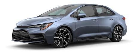 Toyota Corolla 2020 Side View