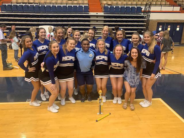 Montgomery Catholic Cheerleaders Named All-American Cheerleader 2