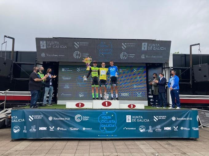 Álex Martín ganó la Volta a Galicia y Fernando Tercero también sube al podio