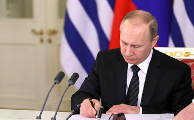 Vladimir Putin, documents.