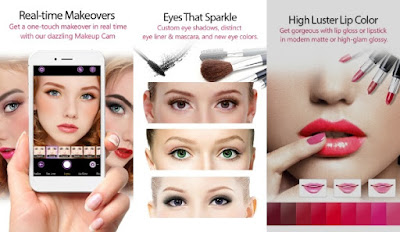 foto editor youcam makeup