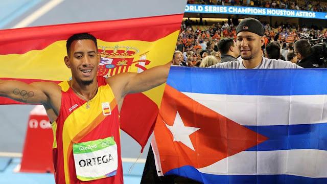 La opinión entre los gestos de Orlando Ortega y Yuli Gurriel