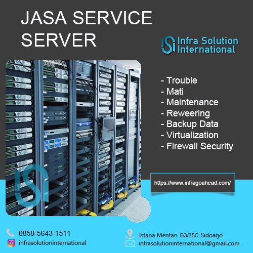 Jasa Service Server Banjarmasin