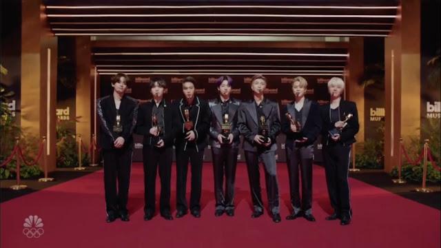 BTS 2021 BBMA Awards