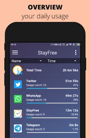 StayFree - Screen Time Tracker & Limit supper Application