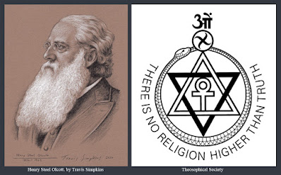 Henry Steel Olcott. Co-Founder and First President of the Theosophical Society. by Travis Simpkins