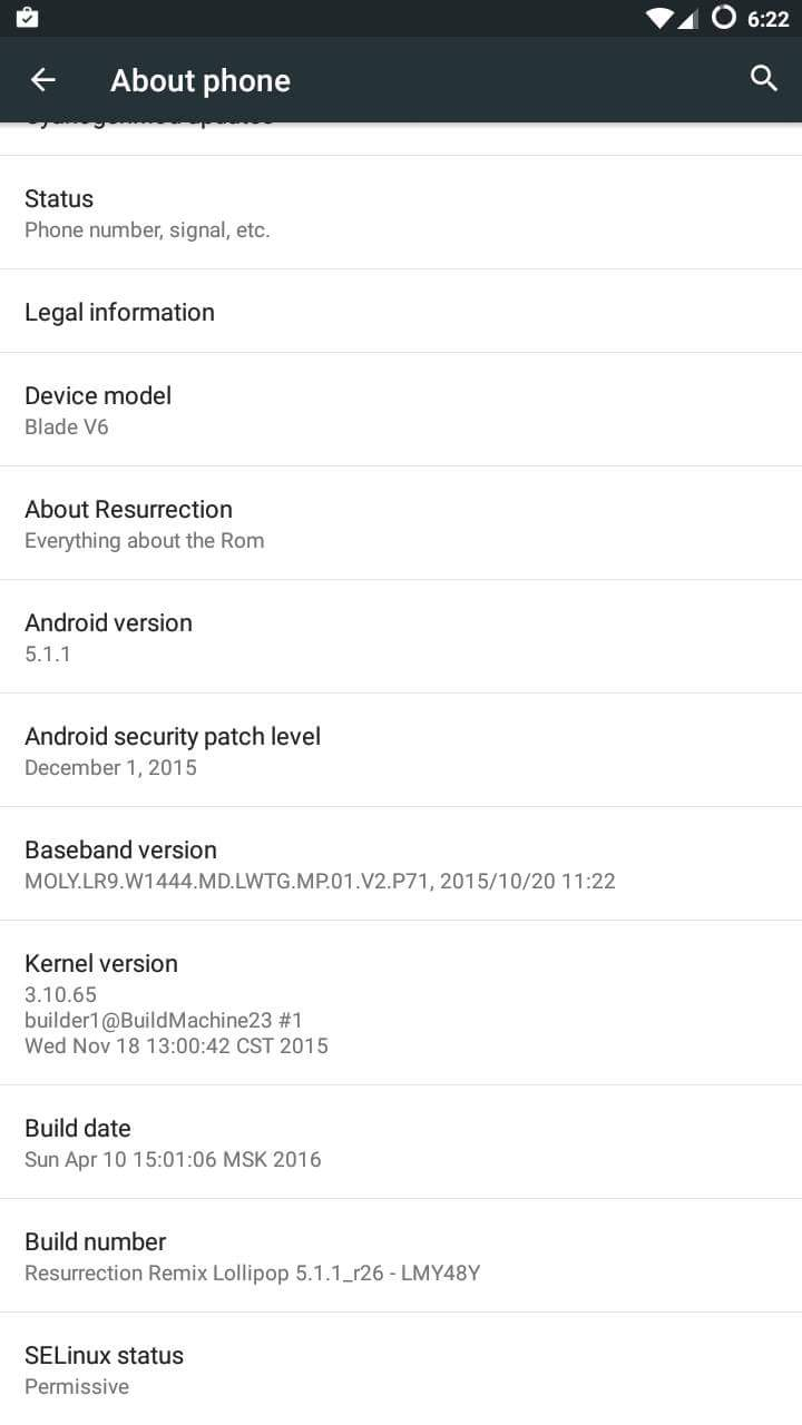 real zte blade v6 rom the help your