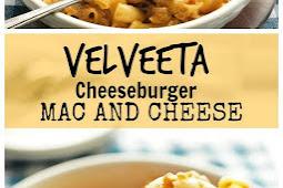 Velveeta Cheese Burger Mac and Cheese