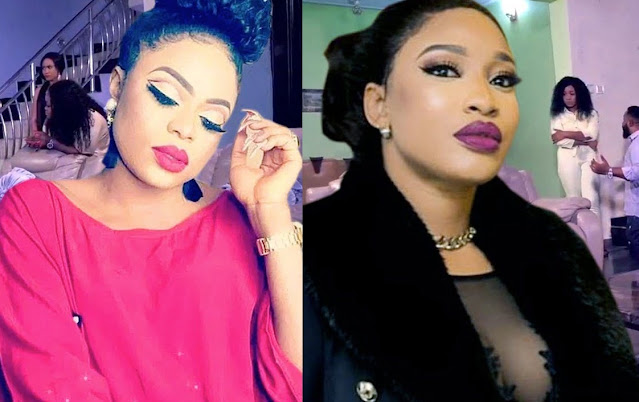 'Please Find It In Your Heart To Forgive Me' - Bobrisky Publicly Apologises To Tonto Dikeh