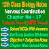 Nervous Coordination 12 Class Biology Notes